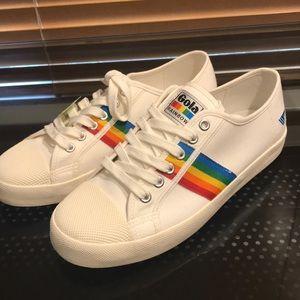 Brand New Gola Coaster Rainbow Sneakers Sz 8